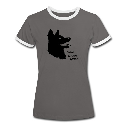 mudiheadschrift - Women's Ringer T-Shirt