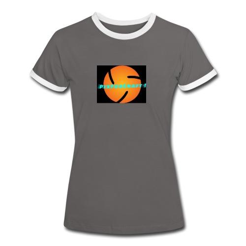 LOGO PixForCraft (Le logo de Juin 2017) - T-shirt contrasté Femme