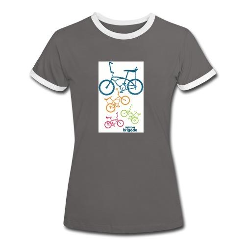 teenbike - T-shirt contrasté Femme