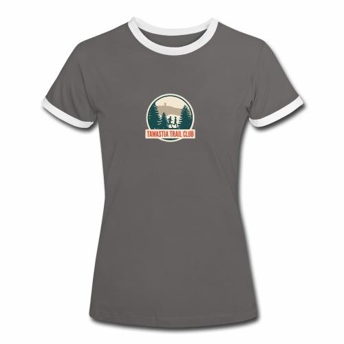 Tawastia Trail Logo - Naisten kontrastipaita