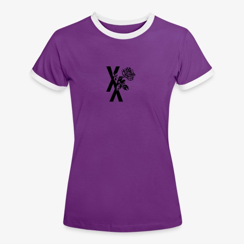 EST19XX ROSE - Vrouwen contrastshirt