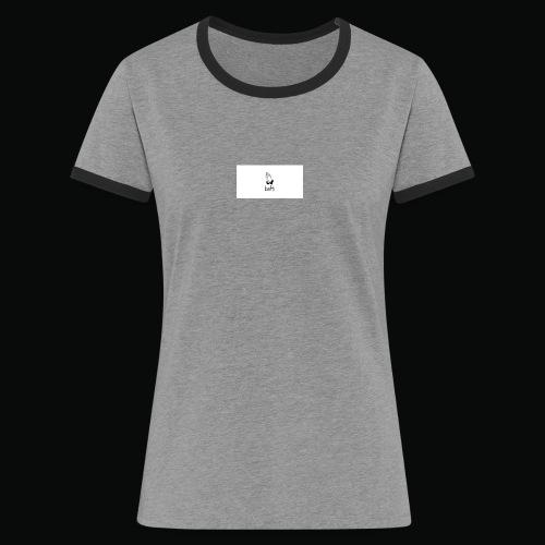 bafti long sleeve tee - Dame kontrast-T-shirt