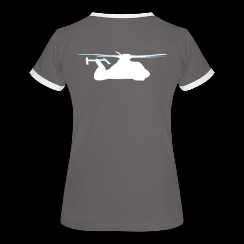 Comanche 2 - Frauen Kontrast-T-Shirt