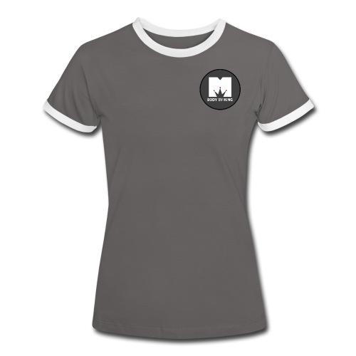 BodyByKing Banner - Women's Ringer T-Shirt