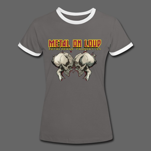 new mhf logo - Women's Ringer T-Shirt