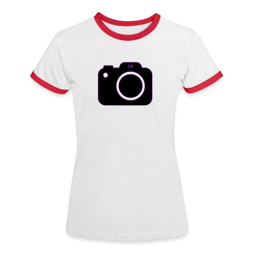 FM camera - Women's Ringer T-Shirt