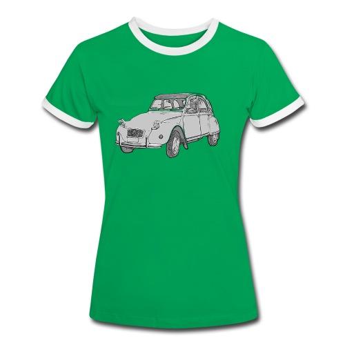 Ma Deuch est fantastique - T-shirt contrasté Femme