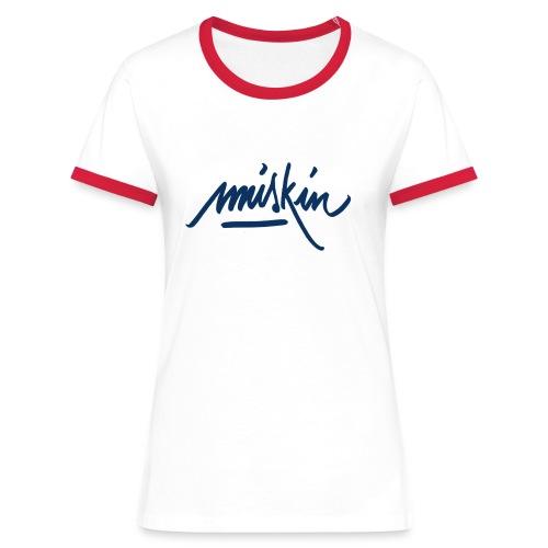 T-Shirt Miskin - T-shirt contrasté Femme