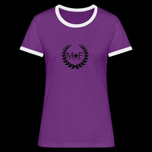 MF - T-shirt contrasté Femme