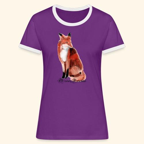 FOX - Maglietta Contrast da donna