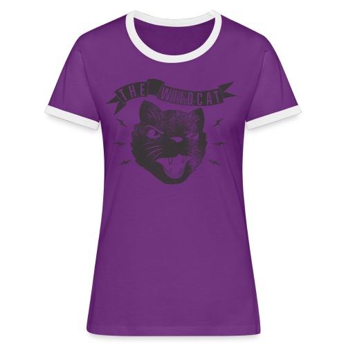 The Wildcat - Frauen Kontrast-T-Shirt