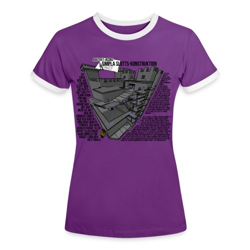 Jacobs Slott - Kontrast-T-shirt dam