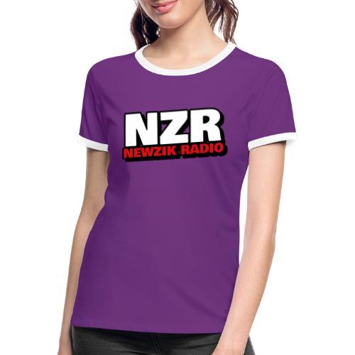 NZR - T-shirt contrasté Femme