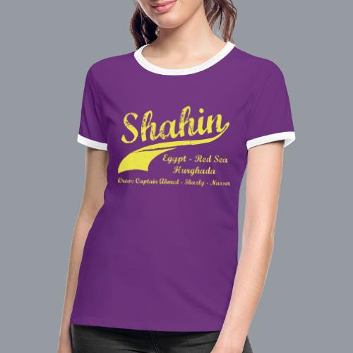 Shahin - Frauen Kontrast-T-Shirt