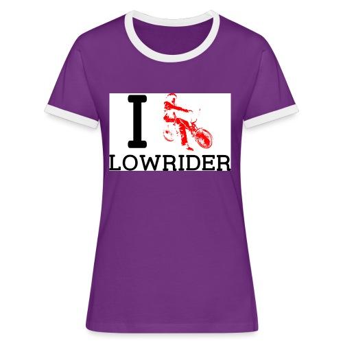 ilowrider - T-shirt contrasté Femme