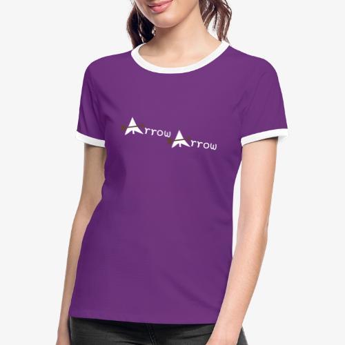 arrow arrow patjila - Women's Ringer T-Shirt