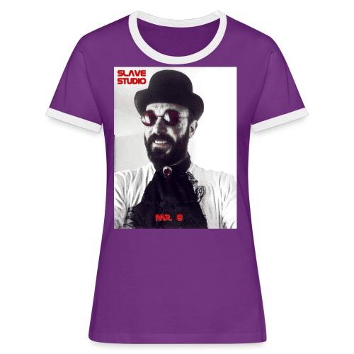 Mr. 8 - Maglietta Contrast da donna