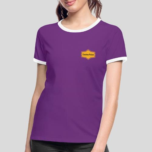 logo transparent copies - Women's Ringer T-Shirt