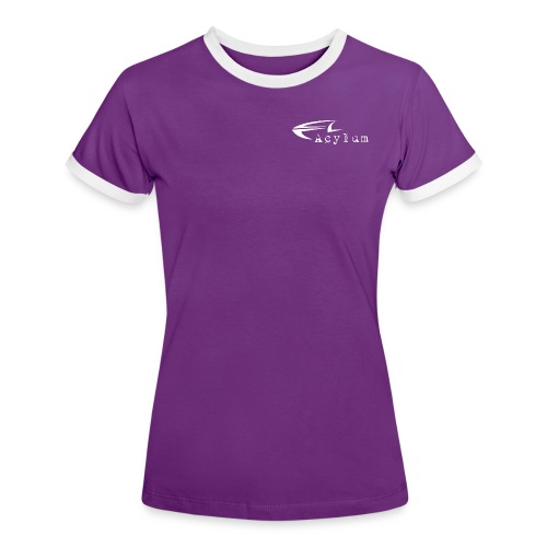 Acylum White - Women's Ringer T-Shirt
