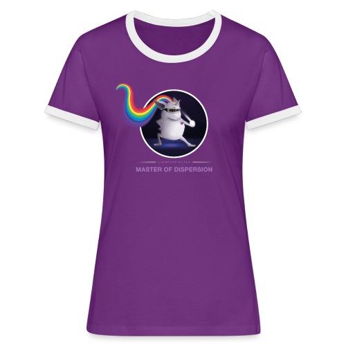 Master of Dispersion - Frauen Kontrast-T-Shirt