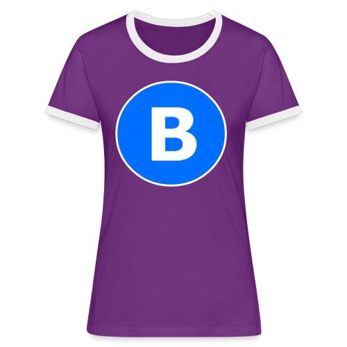 BluePrison - Dame kontrast-T-shirt