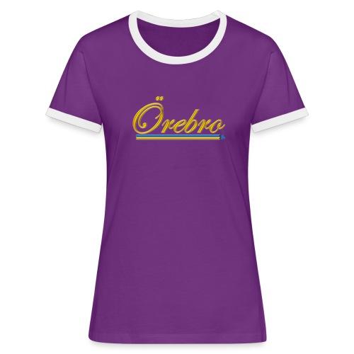 Örebro - Kontrast-T-shirt dam