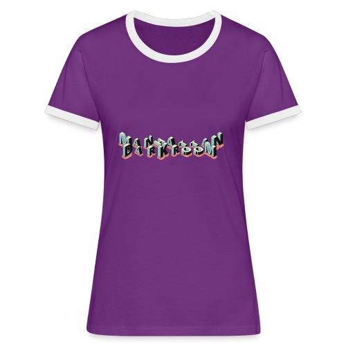THE MANHATTAN DARKROOM - T-shirt contrasté Femme
