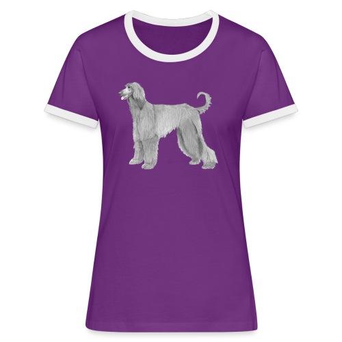 afghanskMynde - Dame kontrast-T-shirt
