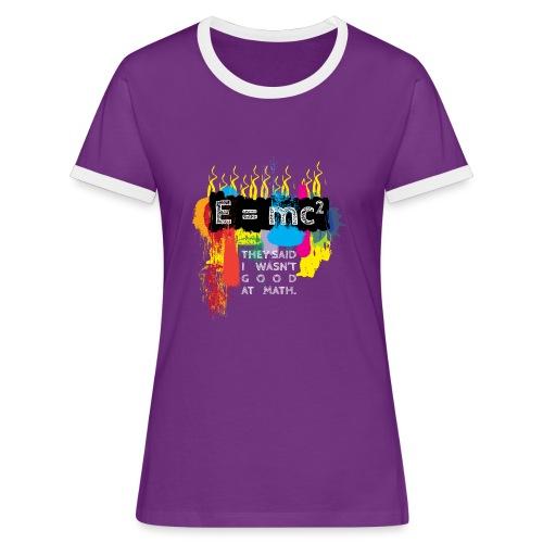 Good at math White - Women's Ringer T-Shirt