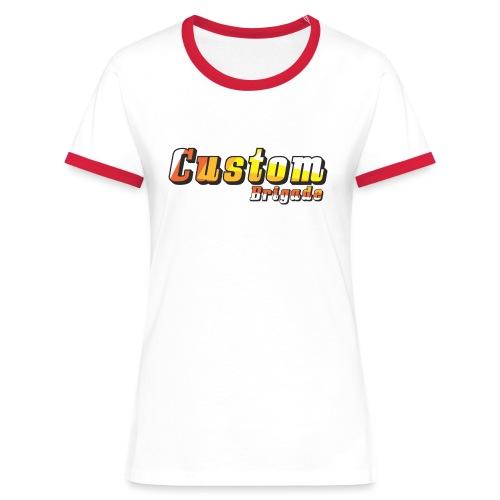 bandecb - T-shirt contrasté Femme