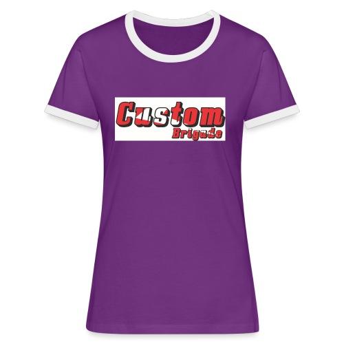 shcb - T-shirt contrasté Femme
