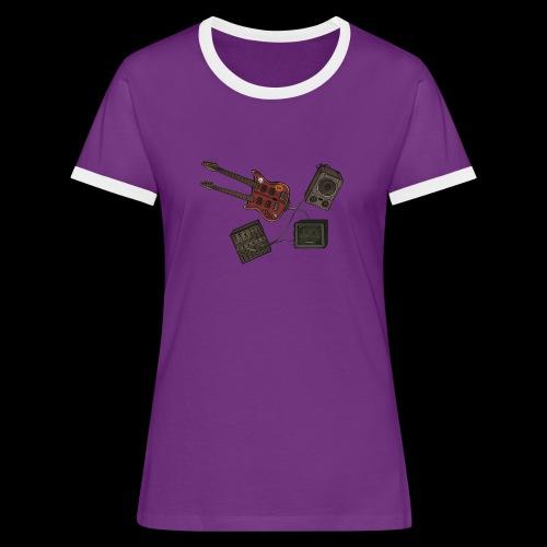 Music - Women's Ringer T-Shirt