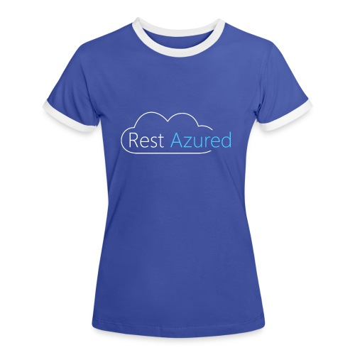 Rest Azured # 2 - Women's Ringer T-Shirt