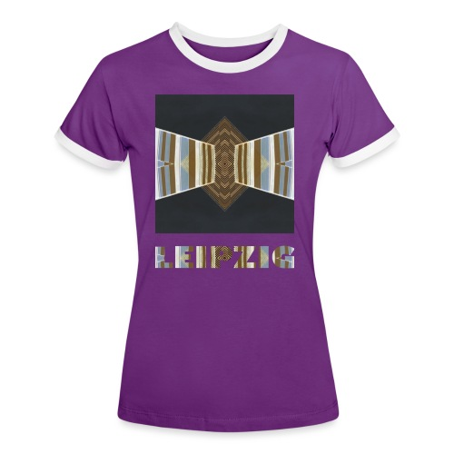 Leipzig #2 - Frauen Kontrast-T-Shirt