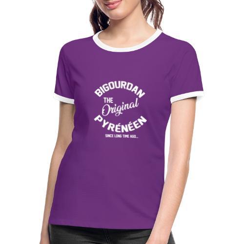 BIGOURDAN - T-shirt contrasté Femme
