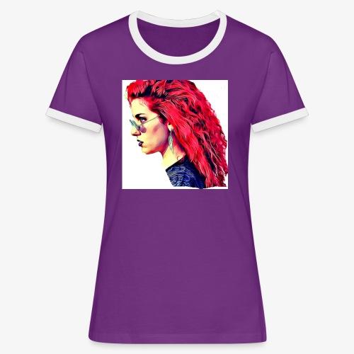 MINERVA - Camiseta contraste mujer