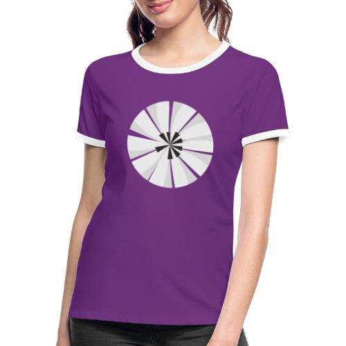 Ma planète Piano - T-shirt contrasté Femme