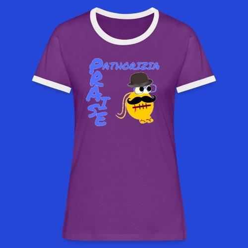 PraisePathorizia - Maglietta Contrast da donna