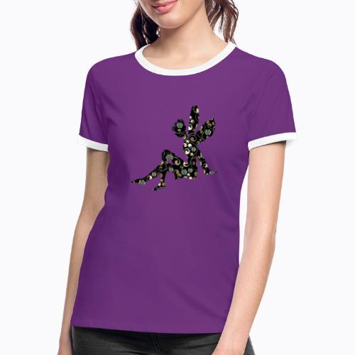 fairy abstract - Women's Ringer T-Shirt