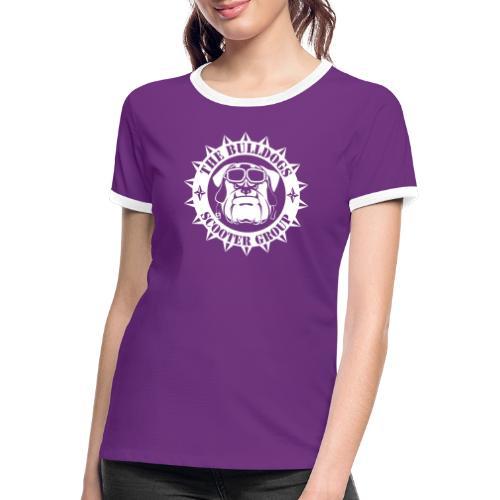 Bulldogs Scooter Group - T-shirt contrasté Femme