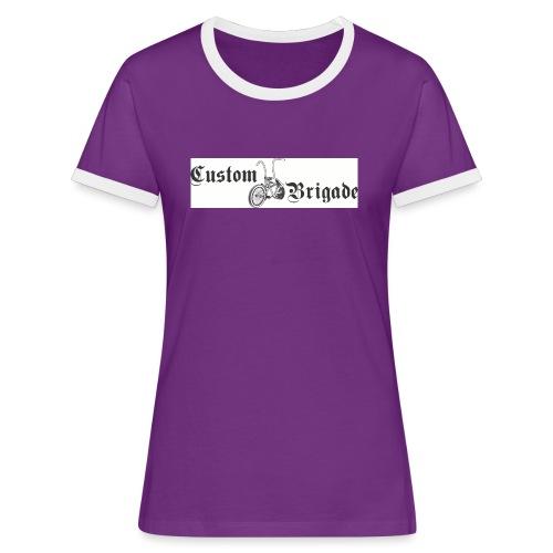 velo03 - T-shirt contrasté Femme