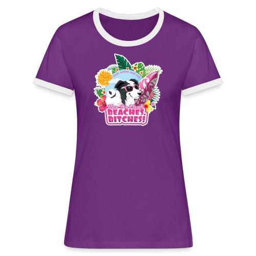 More Dog-Friendly Beaches - Women's Ringer T-Shirt