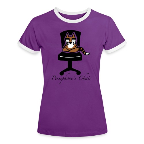 Persephone's Chair - Women's Ringer T-Shirt