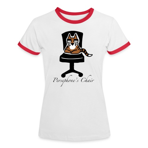 Persephone's Chair - Women's Ringer T-Shirt