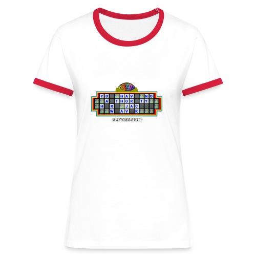 Jackie Weaver Wheel of Fortune - Women's Ringer T-Shirt