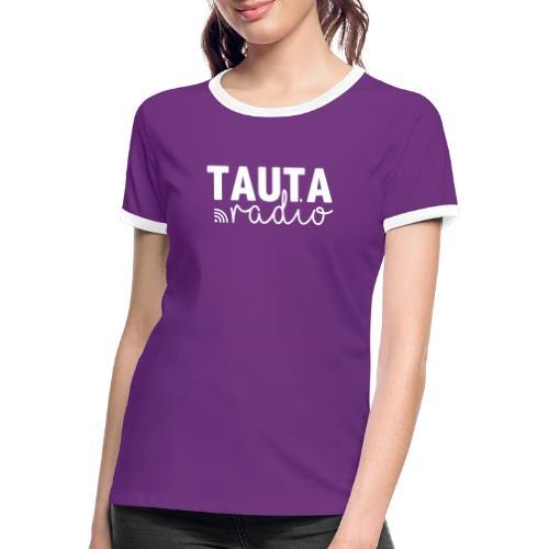 Radio Tauta Logo - Women's Ringer T-Shirt