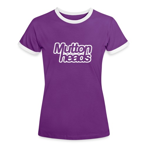 mths logo nb - Women's Ringer T-Shirt