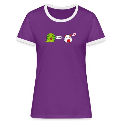porofinis png - T-shirt contrasté Femme