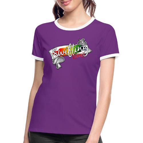 Swifting Live - Frauen Kontrast-T-Shirt