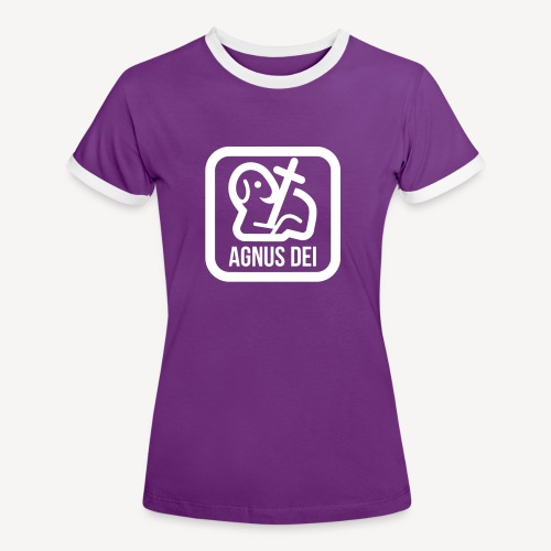 AGNUS DEI - Women's Ringer T-Shirt